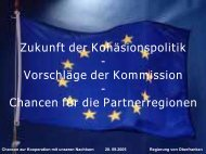 Chancen zur Kooperation mit unseren Nachbarn - CLARA@eu