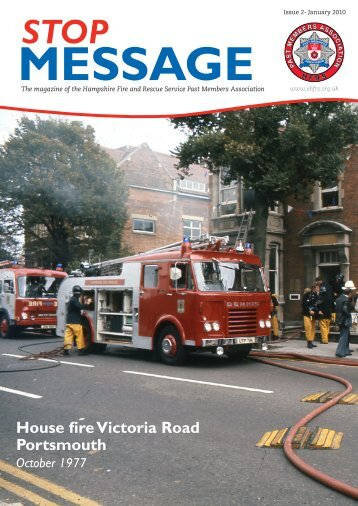 January 2010 - Issue 2 - Hampshire Fire and Rescue Service Past ...