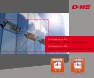D+H Mechatronic AG RAucHAbzuG unD nAtüRlicHe lüftunG D+H ...