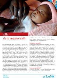Zambia_Lotta alla malnutrizione - Unicef