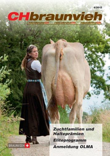CHbraunvieh 06-2012 - Schweizer Braunviehzuchtverband