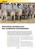 CHbraunvieh 06-2012 - Schweizer Braunviehzuchtverband - Seite 6