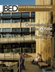 (JBED) - Winter 2008 - The Whole Building Design Guide