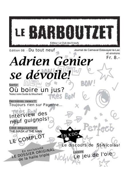 Adrien DévoileLe Genier DévoileLe Barboutzet Adrien Se Genier Adrien Barboutzet Se 2HIW9YDE