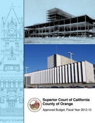 Approved Budget, Fiscal Year 2012-13 - Superior Court