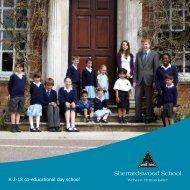 School Prospectus - Sherrardswood School