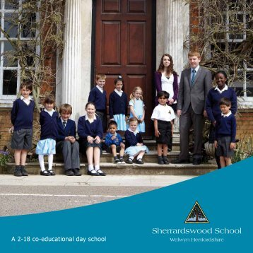 School Prospectus - Sherrardswood School
