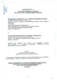 PDF, 6 MB - Kooperativa, pojišťovna, a.s.
