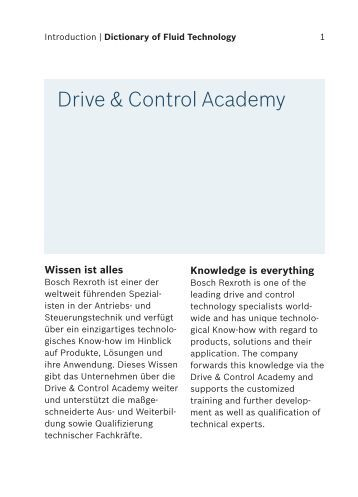 Drive & Control Academy