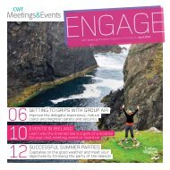 Engage Magazine - Carlson Wagonlit Travel