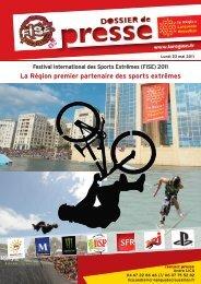 La Région premier partenaire des sports extrêmes