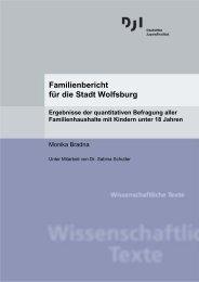 Familienbericht für die Stadt Wolfsburg