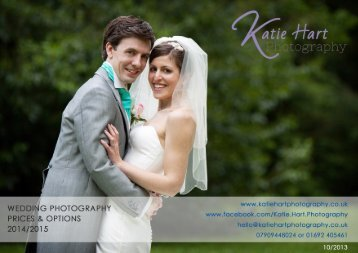 to view or download the Katie Hart Wedding Brochure 2014