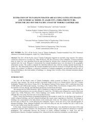 estimation of tsunami-inundated areas using satellite images and ...