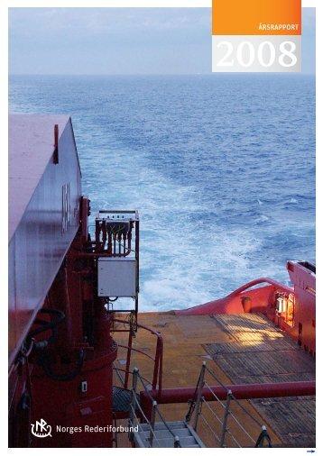 Årsrapport 2008 - Norges Rederiforbund
