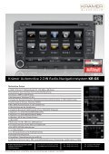 Krämer Automotive 2-DIN Radio-Navigationssystem KR-G6 - Seite 2