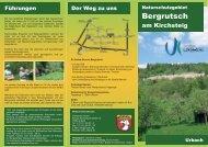Bergrutsch am Kirchsteig - Gemeinde Urbach