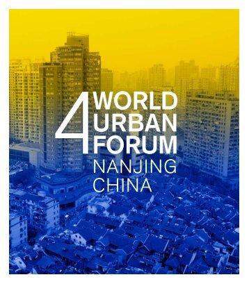 WORLD URBAN FORUM - Global Reporting