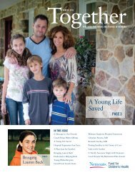 A Young Life Saved, 2013 - Nemours