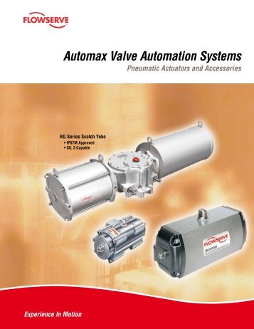 Automax Valve Automation Systems Pneumatic Actuators and ...