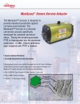 Automax Valve Automation Systems Pneumatic Actuators and ... - Page 6