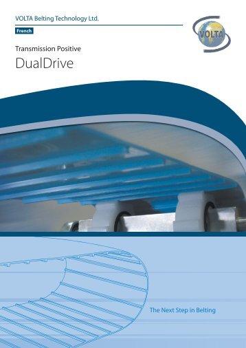 Daul_Drive_Flier_French (WO3A).indd - Volta Belting Technology Ltd.