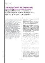 Gespräch Margarete Mitscherlich-Nielsen über die Notwendigkeit ...