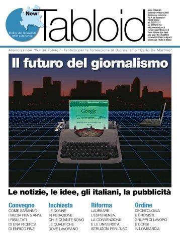Il futuro del giornalismo - Ordine dei Giornalisti