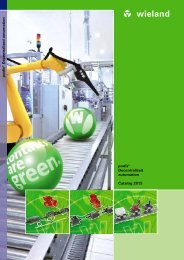 podis® Decentralized automation Catalog 2013 ... - Wieland Electric