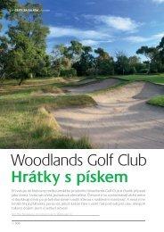 Woodlands Golf Club Hrátky s pískem - Golfplus Media