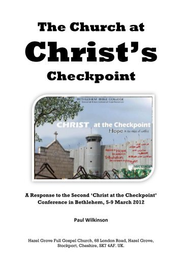 The Church at Christ's Checkpoint - Rapture Ready