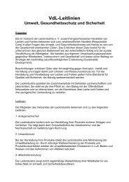 zum pdf-Download - VdL Verband der Lackindustrie e.V.