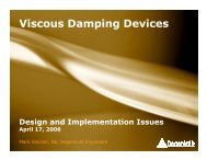 Viscous Damping Devices