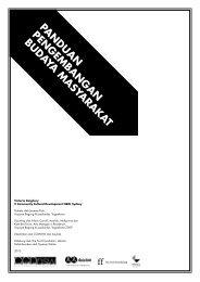panduan pengembangan budaya masyarakat - Asialink - University ...