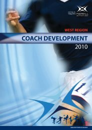 WEST REGION Coach Development - Scottish Football Association