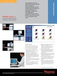 WinXRF version 3.0 software (2058 Kb) - Thermo Scientific
