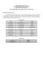 Relatório PIBIC / PIBIC-AF e PIBITI – CNPq - Reitoria - Unipampa
