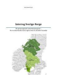 Remiss - Interreg Sverige Norge