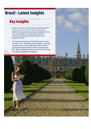 Brazil - Latest Insights - VisitBritain