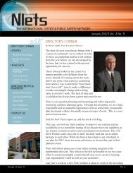 Newsletter Vol 2, Iss 9 - Nlets