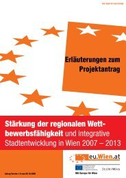 Erläuterungen und allgemeine Hinweise - Ziel 2 Wien
