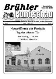 JEDE WOCHE NEU! Lokalmatador.TV - Gemeinde Brühl
