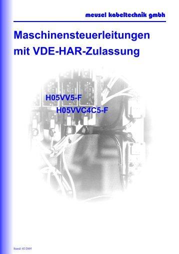H05VV5-F - Meusel Kabeltechnik GmbH