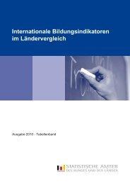 Internationale Bildungsindikatoren im Ländervergleich - Agentur für ...