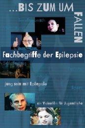 Fachbegriffe aus der Epilepsie
