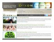 News - Dixon Golf