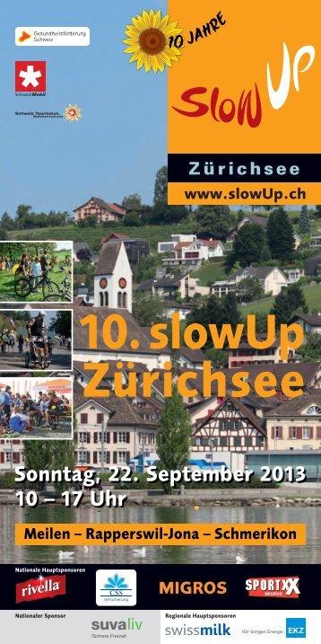 10. slowUp Zürichsee Meilen
