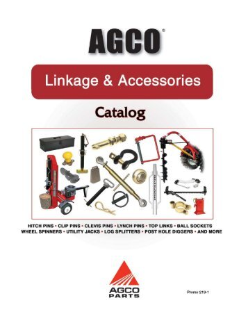 About AGCO Parts Division