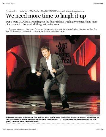 The Gazette Digital - Steve Patterson