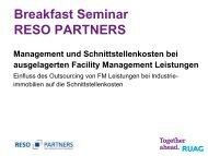 Präsentation als PDF hier klicken - RESO Partners AG